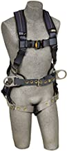 3M DBI-SALA ExoFit XP 1110176,Back D-Ring, Belt with Pad and Side D-Rings, Tongue Buckle Leg Straps, Removable Comfort Padding,Blue, Medium