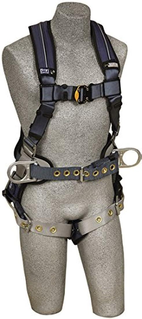 スケジュール仕立て屋迷惑DBI Exofit Xp, 1110176,Back D-Ring, Belt With Pad And Side D-Rings, Tongue Buckle Leg Straps, Removable Comfort Padding,Blue, Medium by 3M Fall Protection Business