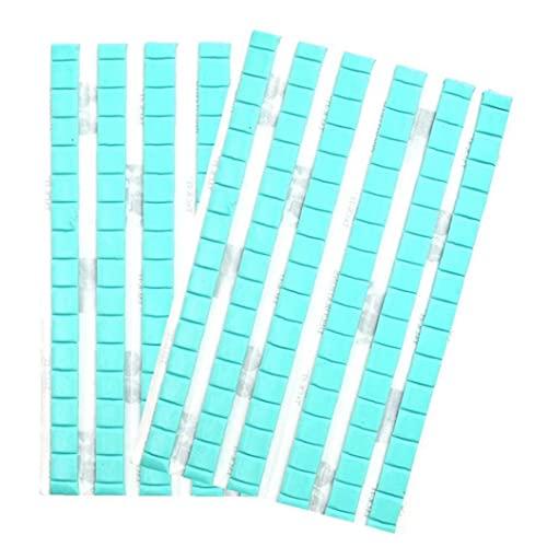 Réutilisable Nail Art Colle Réutilisable Détachable Nail Détachant Clay Manucure Montage en plastique Putty Colle Tool de montage polyvalent Main anti-bâton