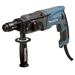 Makita HR2470FT Rotary Hammer SDS-Plus, Blue, Silver