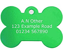 Engraved in the UK by www.personalisedstore.co.uk. Choose from one side or both sides engraving. Engraved using the latest laser engraving technology. Tough and durable, engraving won't wash off. Includes a tough Nickel split ring.