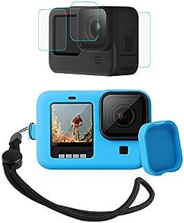 ChFS Kit 4 en 1 para GoPro Hero 9 Black Protector de Silicon