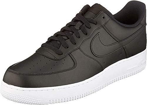 Nike Herren AIR Force 1 '07' Basketballschuhe, Schwarz Black Aa4083 015, 49.5 EU