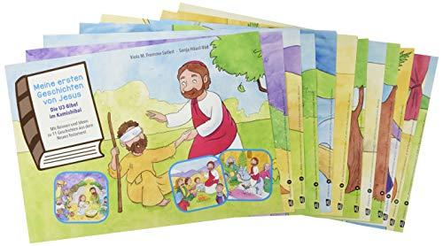 Meine ersten Geschichten von Jesus. Die U3-Bibel im Kamishibai. Kamishibai Bildkartenset. Mit Reimen und Ideen zu 11 Geschichten aus dem Neuen ... Erzähltheater mit Kindern unter drei Jahren)