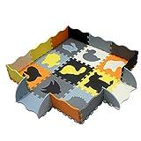 XMTMMD Tappeto Puzzle con Animali Bambini Puzzle Giocare Mat colorato Morbido Non tossico ...