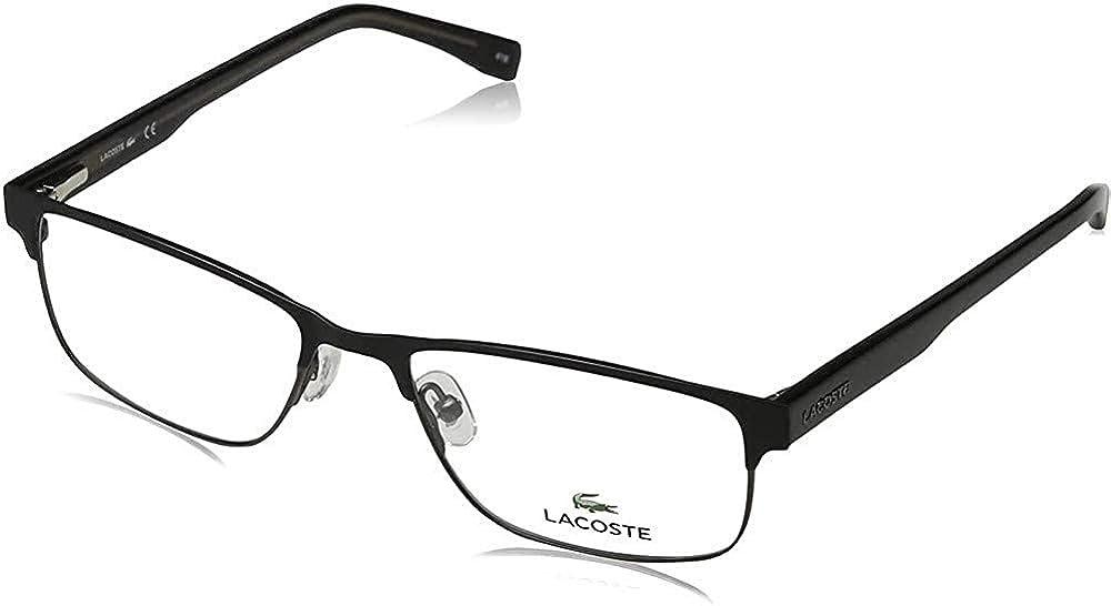 Eyeglasses LACOSTE L Limited time cheap sale Now on sale 2217 Matte 001 Black