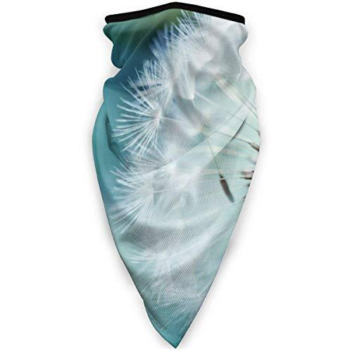 JKGHGRLG Mscara deportiva de diente de len mosca al aire libre a prueba de viento mscara de esqu bufanda bandana hombres mujer negro
