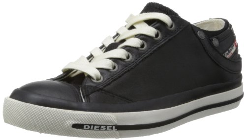 Diesel Damen Magnete Exposure IV Low Sneaker, Schwarz (T8013 Black), 37 EU