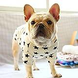 N/A Ropa para Perros Bulldog Pug Ropa Primavera Otoño Disfraz Mascota Schnauzer Corgi American Bully Pitbull Bulldog Perro Sudaderas con Capucha Camiseta