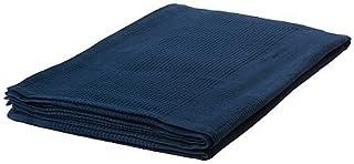 Ikea IKE-103.962.46 Indira - Colcha (100% algodón, 150 x 250 cm), Color Azul Oscuro