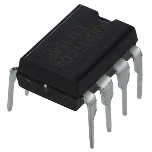Amplificador - SODIAL(R) 10x LM358N Amplificador operacional dual de 8 pines de baja potencia
