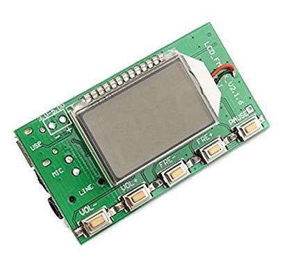 LaDicha DSP PLL 87-108 デジタルワイヤレスマイクステレオFMトランスミッタモジュールボード