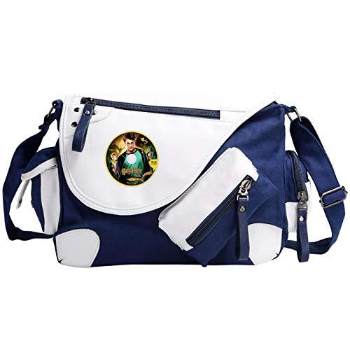 Harry Potter Children's Shoulder Bag Book Bag Unisex Messenger Bag Suitable For 8-18 Year Olds Medium Blue