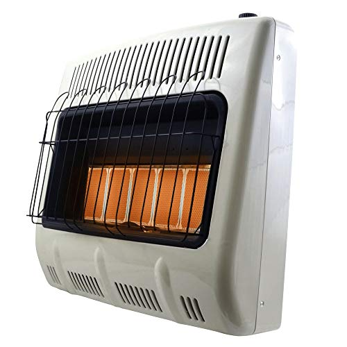 Mr. Heater Corporation F299831 Vent-Free 30,000 BTU Radiant Natural Gas Heater, Multi