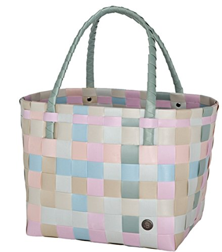 Handed By - Tasche/Shopper - Paris Shopper - Farbe: Pastel Mix 27 x 31 x 24 cm