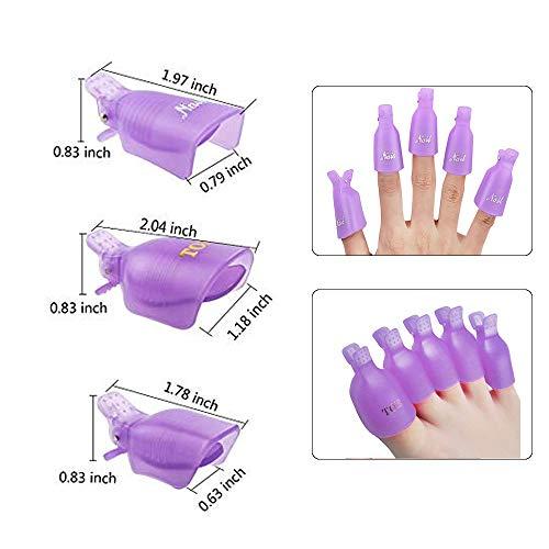 Nail Polish Remover Clips