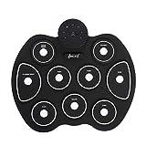 iWord Portable Electronic Drum Set White 9 Pads