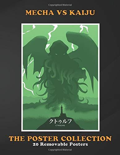 Poster Collection: Mecha Vs Kaiju Cthulhu Geeky