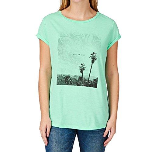Volcom Wonder Seeker T-Shirt S Turquoise - Turquoise