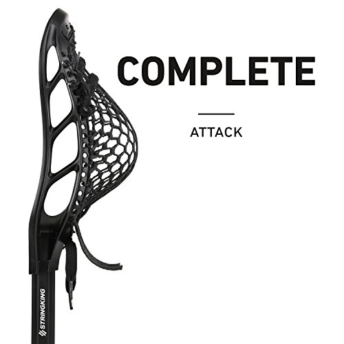 String King Complete Attack Lacrosse Stick with Head and Shaft (Assorted Colors)