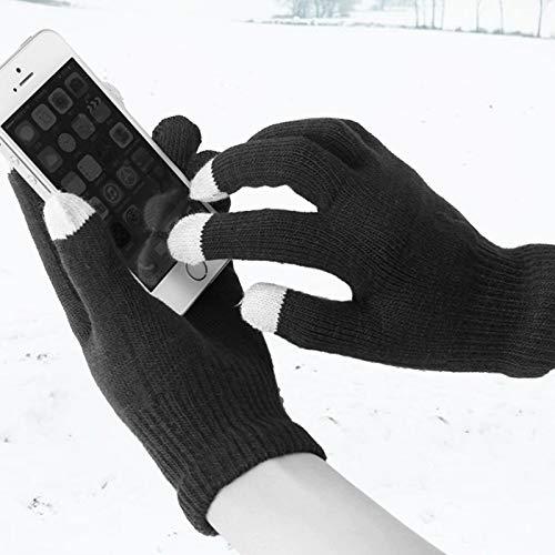PYAPRON 키보드 가열:통기성 USB 저희에게 연락하는 따뜻한 겨울 장갑을 따뜻한 손해 자전거 하이킹과 캠프 난방 및 비 미끄러짐 터치스크린 편안한 난방