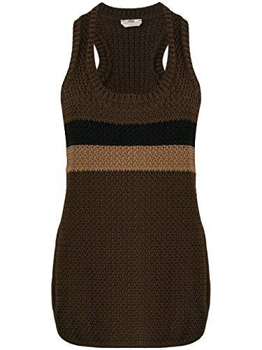 Luxury Fashion | Fendi Dames FZX500ABWFF0ZQY Bruin Katoen Truien | Lente-zomer 20