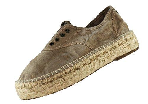Zapatillas de Esparto (Beige Enzimático) de Natural World Eco