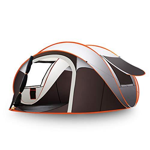 WZFC Camping Zelt, 5-8 Personen Outdoor Pop Up Wasserdicht High Peak Zelt,für Trekking,Festival mit kleinem Packmaß, einfacher Aufbau