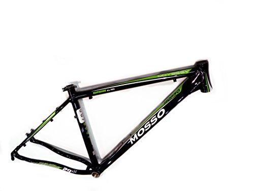 """Mosso MTB 2902 Odyssey - Cuadro, Color Negro/Verde, Talla 19"""""""