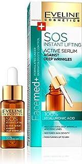 Eveline Cosmetics 100% Hyaluronic Acid Active Serum Instant Lifting SOS Against Deep Wrinkles