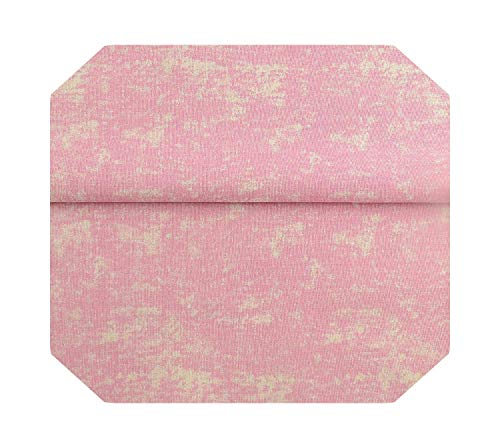 Tela de lino de algodón Tela de lienzo Arpillera 4PCS 45x45cm Decoración para cortinas Bolsa Mantel DIY Fundas de cojín de almohada-50cmx145cm-