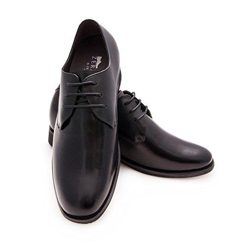 Zerimar Zapatos con Alzas Hombre| Zapatos de Hombre con Alzas Que Aumentan su Altura + 6,5 cm|Zapatos con Alzas para Hombres | Zapatos Hombre Vestir