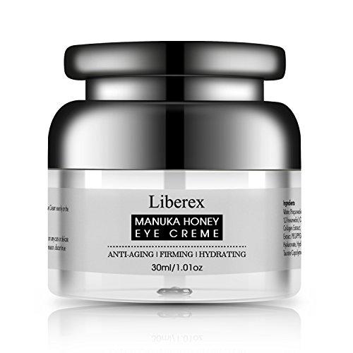 Crema para Contorno de Ojos - Liberex Contorno de Ojos Hidratante, Propóleos Naturales y Jalea Real, Reduce Líneas de Expresión Arrugas Sequedad