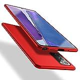 X-level Samsung Galaxy Note 20 Hülle, [Guardian Serie] Soft Flex TPU Hülle Superdünn Handyhülle Silikon Bumper Cover Schutz Tasche Schale Schutzhülle für Samsung Galaxy Note 20 5G - Rot