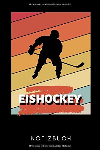 EISHOCKEY NOTIZBUCH: A5 Notizbuch PUNKTIERT Geschenk für Eishockeybuch | Eishockey Fans | Training | Geschenkidee | Wintersport | Schönes Buch | Journal | Kalender | Terminplaner
