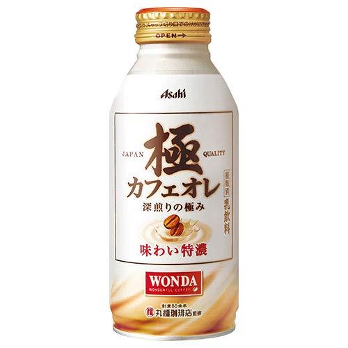 ワンダ 極 カフェオレ 370g×24本 缶
