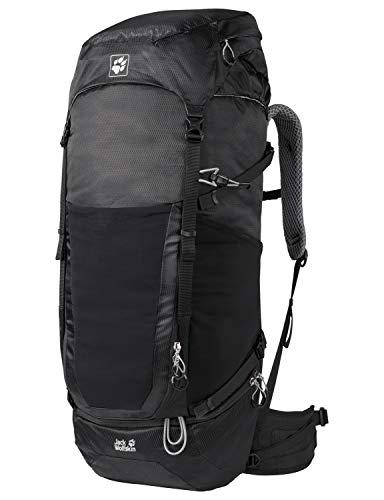 Jack Wolfskin KALARI King 56 Pack Trekking Reise Rucksack, Black, ONE Size
