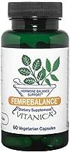 Vitanica FemRebalance, Hormone Balance Support, Vegan, 60 Capsules