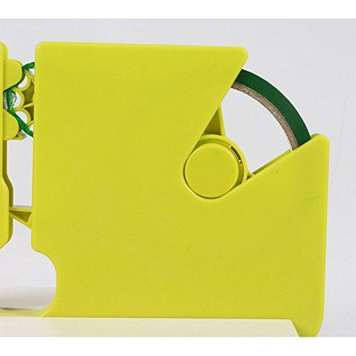 ETbotu Home Use – Homeware – tragbare Haushaltsversiegelungsmaschine, praktisches Beutelverschlussgerät, Küchenwerkzeug Grünes Klebeband