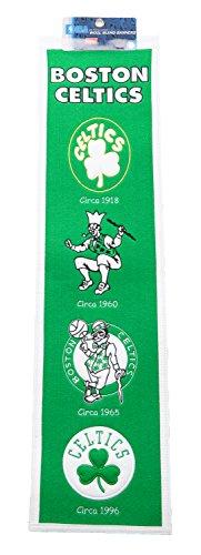Heritage Wool NBA Authentic Boston Celtics Banner 8' x 32'