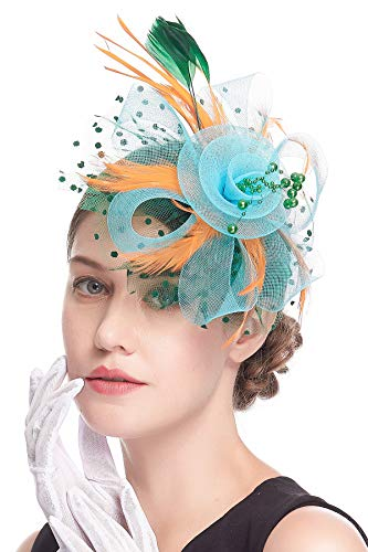 Womens Tea Party Headband