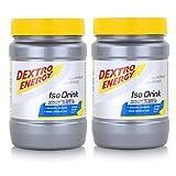 Dextro Energy Iso Citrus Fresh - Bebidas isotónicas en polvo (440 g, 2 unidades)