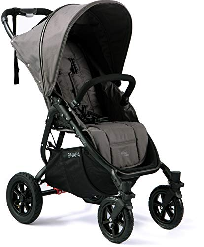 Valco Baby Original Snap 4 SPORT Single Stroller AIR Wheels (Dove Grey)