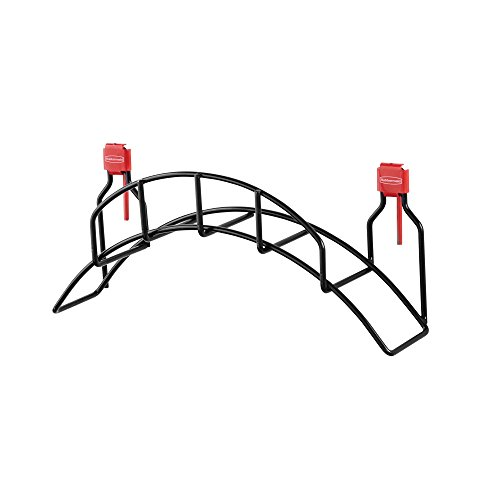 Rubbermaid Shed Accessories Garden Hose Holder, Individual, Black