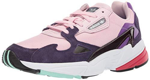adidas Originals Falcon - Zapatillas Deportivas para Mujer, Color Negro, Negro y Rosa Claro, Color Rosa, Talla 40 EU