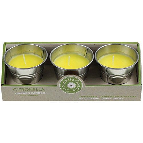 Color amarillo–Vela aromática (aroma Cubo Vela de Té quemadores Juego de accesorios de jardín