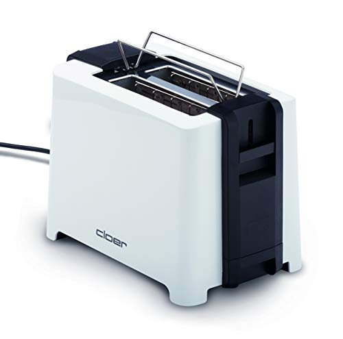 Cloer-3531-Full-Size-2-XXL-Toastscheiben-750-900-Watt-Toast-Check-Funktion-Broetchenaufsatz-Auftaufunktion-Nachhebevorrichtung-weiss