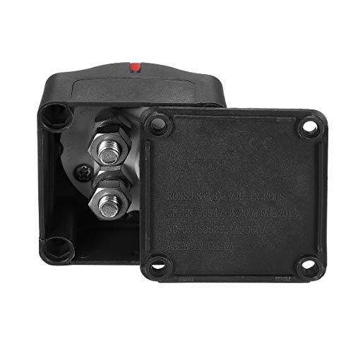 On/Off Schalter 12V-48V 300A Batterietrennschalter Master-Isolator-Schalter Batterie-Umschalter