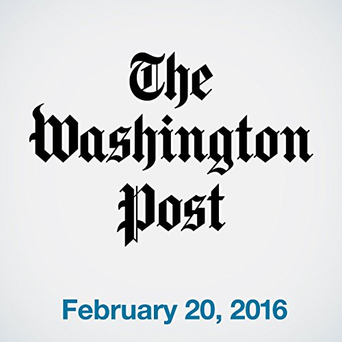 Top Stories Daily from The Washington Post, February 20, 2016 copertina