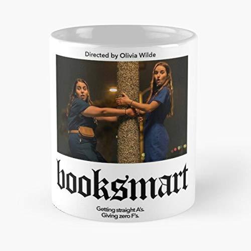 mconcepts Olivia Movie Poster Superbad Booksmart Wilde Indie Dever A24 Feminist Kaitlyn Essen Sie Essen Biss John Best 11oz Unze weiße Keramik Kaffeebecher